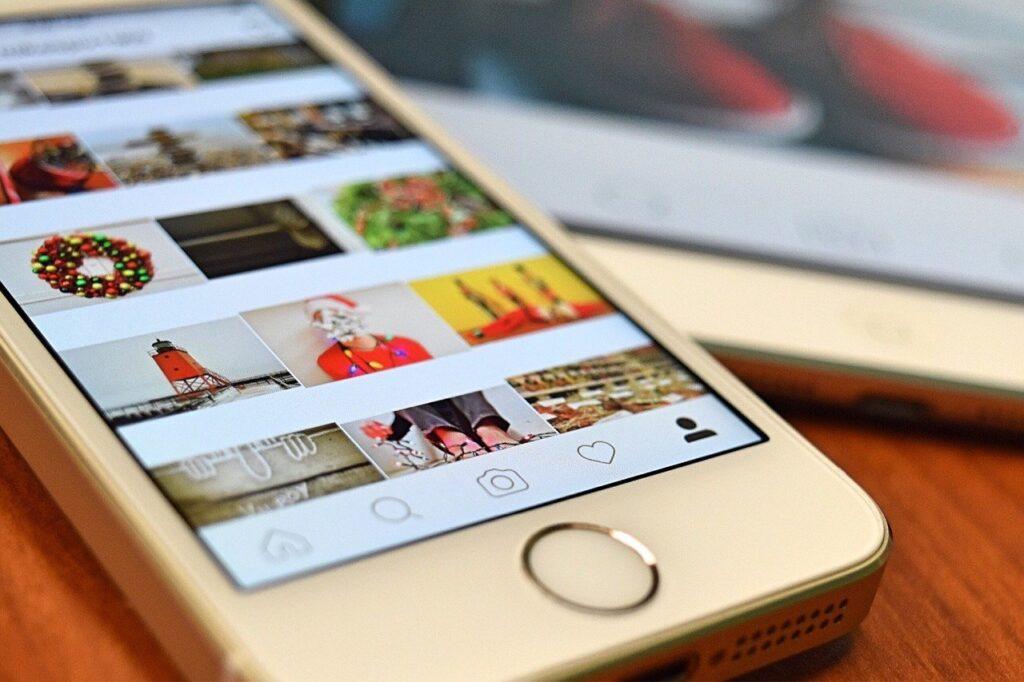 como marcar as pessoas no Instagram