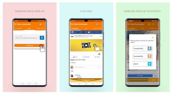 salvar vídeos do Facebook